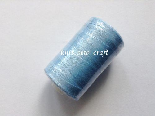 Sewing Thread 914 Metres Bobbin 1000 Yards Sky Blue