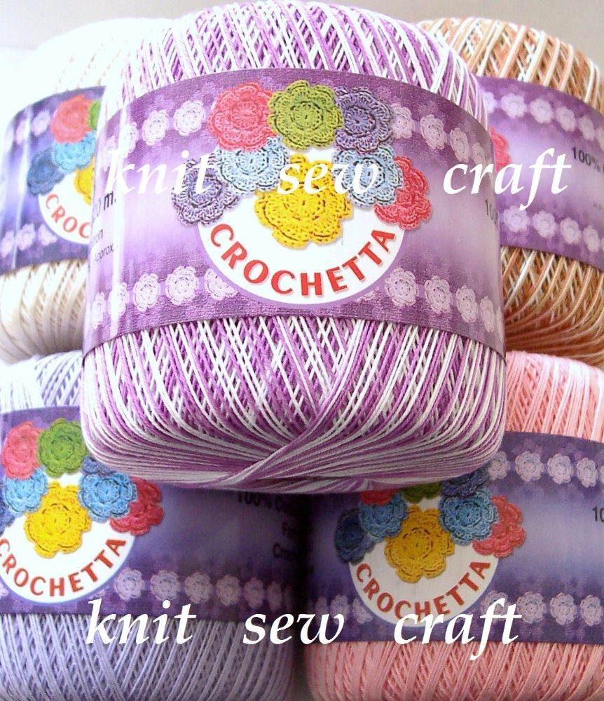 Crochetta Crochet Cotton