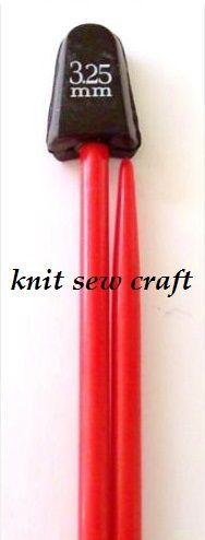 Childrens Knitting Needles Size 3.25mm