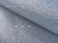 Metallic Silver Tulle Soft Sparkle Net