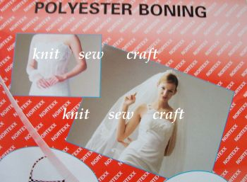 Nortexx Polyester Boning Tape - Clear/Transparent