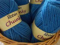 Robin Chunky Knitting Wool - Blue 4035-033
