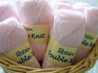 Robin Double Knitting Wool For Toys Dolls - Pink