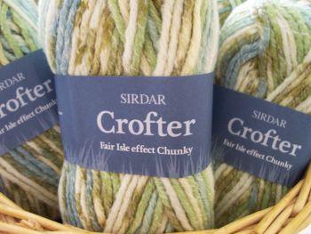Sirdar Crofter Chunky Wool 50g Seagrass 045