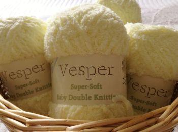 Teddy Vesper Supersoft Baby DK Wool Lemon Yellow