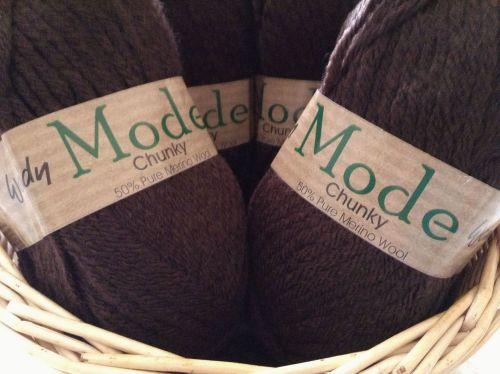 Wendy Mode Chunky Knitting Wool Coffee Bean 218