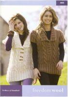 Twilleys Freedom Knitting Book 463 12 Autumn/Winter Designs