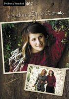 Twilleys Freedom Spirit Chunky Book 467 Knitting Patterns