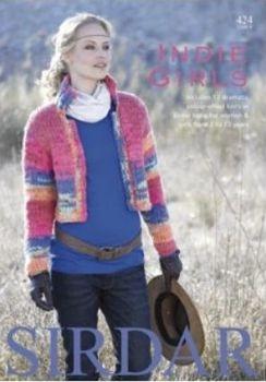 Sirdar Indie Knitting Patterns Book 424 - 12 Designs