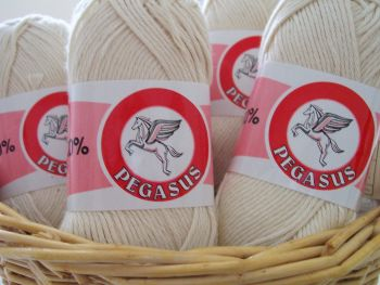 Dishcloth Cotton Ecru Craft Yarn