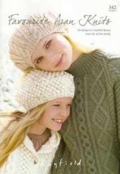 Sirdar Hayfield Aran Knitting Patterns Book 342, 20 Designs