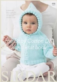 Sirdar Snuggly Cotton DK Wool Knitting Book 446 20 Designs for Baby