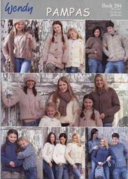 Wendy Pampas Chunky Wool Knitting Patterns Book 294