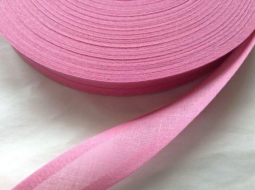 Cerise Pink Bias Binding Fabric Trim