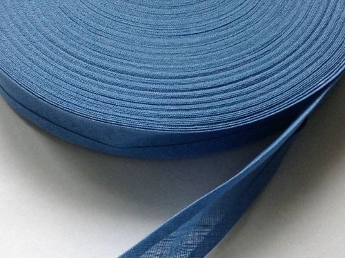 Cornflower Blue Cotton Bias 1