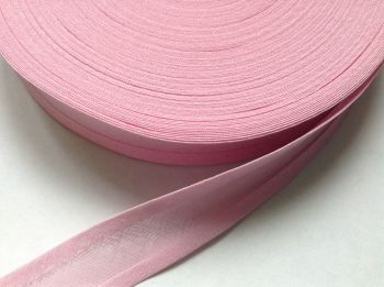 25mm wide bunting and crafts tape - baby pink