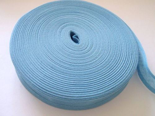 blue sewing tape - 50 metre reel - 100% cotton fabric