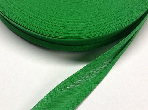 Fern Green Cotton Bias 50 Metre Reel