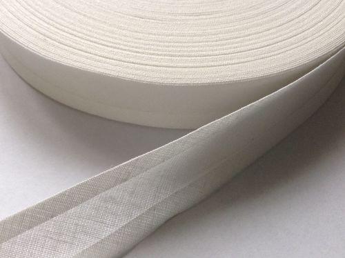 Ivory Bias Binding - 50 Metre Reel