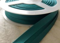 19mm Jade Green Satin Fabric Trimming