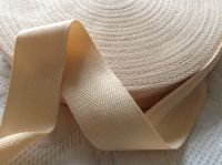 rich cream webbing tape for aprons horse blankets binding 38mm wide 3m