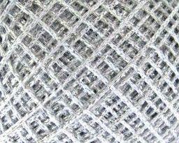 Twilleys Goldfingering Metallic Crochet Yarn - Silver