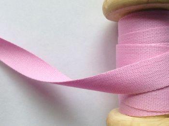 Cotton Tape Baby Pink 14mm Wide Manubens P117-32