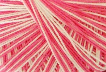 Crochet Cotton - Pink Variegated 10s Tatting Thread