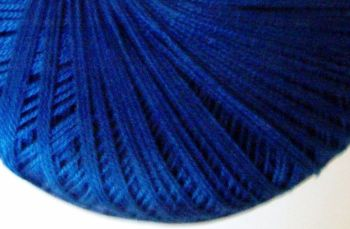 Royal Blue Crochet Thread - Crochetta Number 10 Cotton