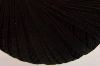 Black Number 10 Crochet Thread - Crochetta