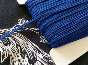Russian Braid Fabric Trim Royal Blue 1 metre x 3mm Textile Cord Edging