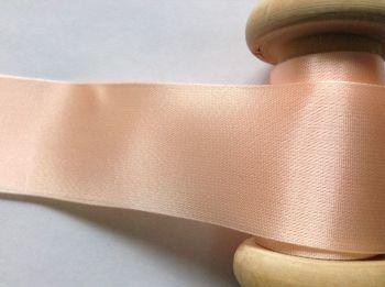 Peach Satin Blanket Binding