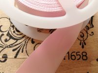 pink satin blanket binding ribbon 3 metres x 72mm folded CB14F/03