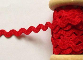 Red Rick Rack Trimming