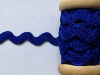 Royal Blue Ric Rac Braid Trimming Ribbon Large Sold Per Metre