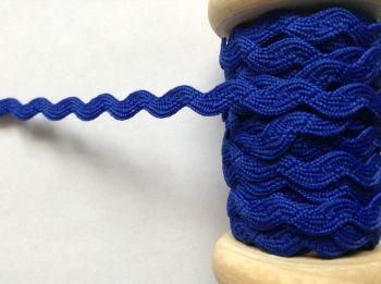Ric Rac Ribbon 7mm Royal Blue Sewing Aprons Skirts Crafts Trim Metre