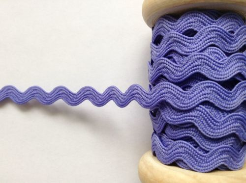 lilac ric rac trimming braid