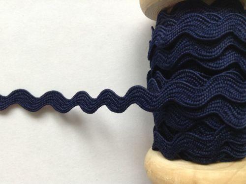 navy blue ric rac