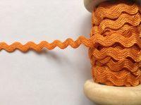 Orange Colour Rick Rack Trimming Braid