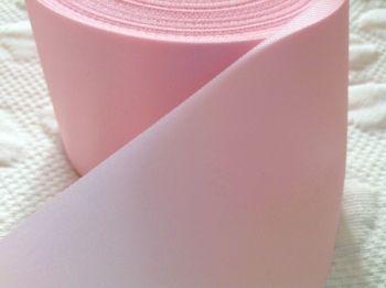 Baby Pink Satin Ribbon 72mm Wide Half Metre Length