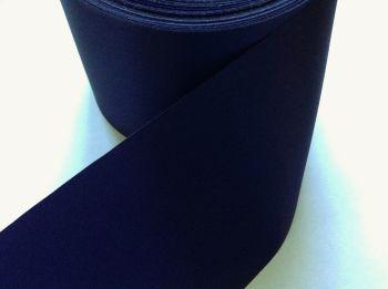 dark blue satin ribbon 72mm wide sewing blanket binding trimming 3m