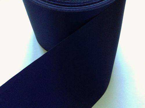 Navy Blue Ribbon 72mm Wide Satin Blanket Binding Sash Quilting Ribbon
