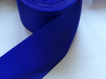 royal blue satin ribbon trimming