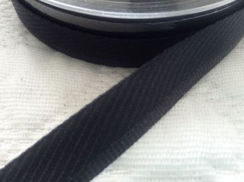 Trouser Hemming Tape - Berisfords Black Kick Tape