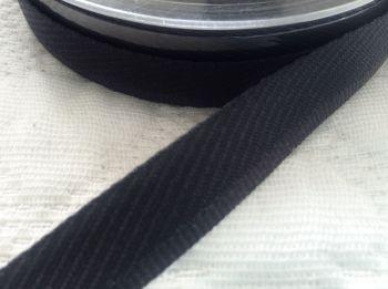 Black Trouser Kick Tape Hemming Tape - Berisfords