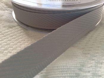 Light Grey Kick Tape - Trouser Hems Berisfords