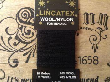 Darning Wool 10 metres Lincatex Thread for Socks Knitwear