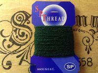 Dark Green Sock Darning Wool