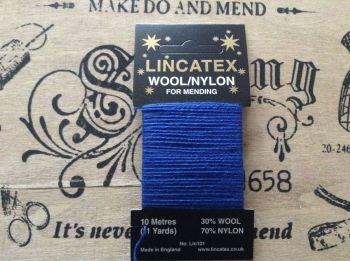 Royal Blue Sock Darning Thread - Lincatex