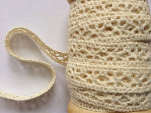 Cream Lace By The Metre